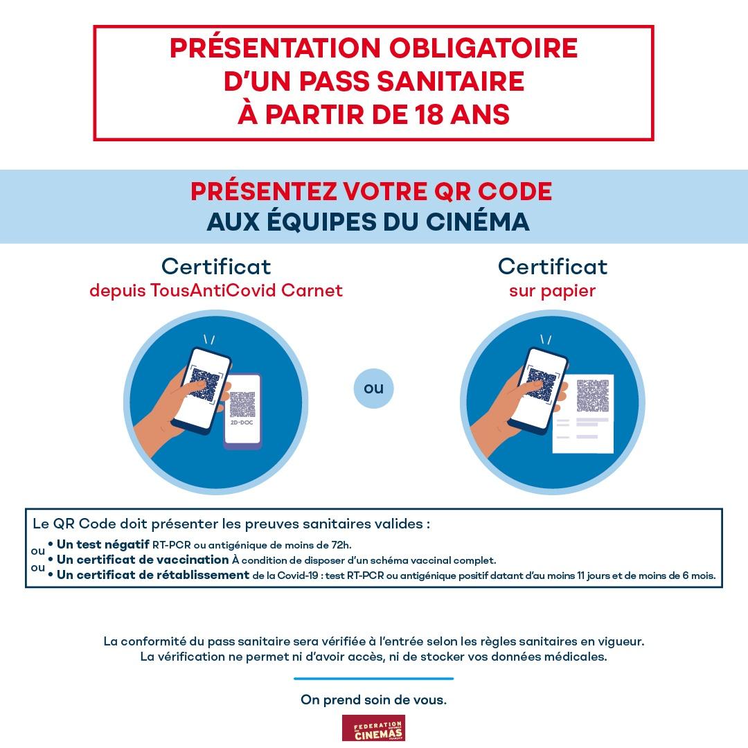 Cinema Clap Vercors - PassSanitaire